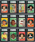 Baseball Cards:Lots, 1959 Topps Baseball SGC 88 NM/MT 8 Collection (127). ...