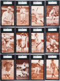 Baseball Cards:Sets, 1922 Eastern Exhibit Supply Co. SGC Graded Complete Set (20). ...