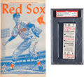 Baseball Collectibles:Tickets, 1960 Ted Williams Final Game & Final Home Run Full Ticket &Program Matched Pair, PSA Authentic. ...