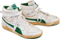 Basketball Collectibles:Others, Mid 1980's Terry Cummings Game Worn Milwaukee Bucks Shoes....
