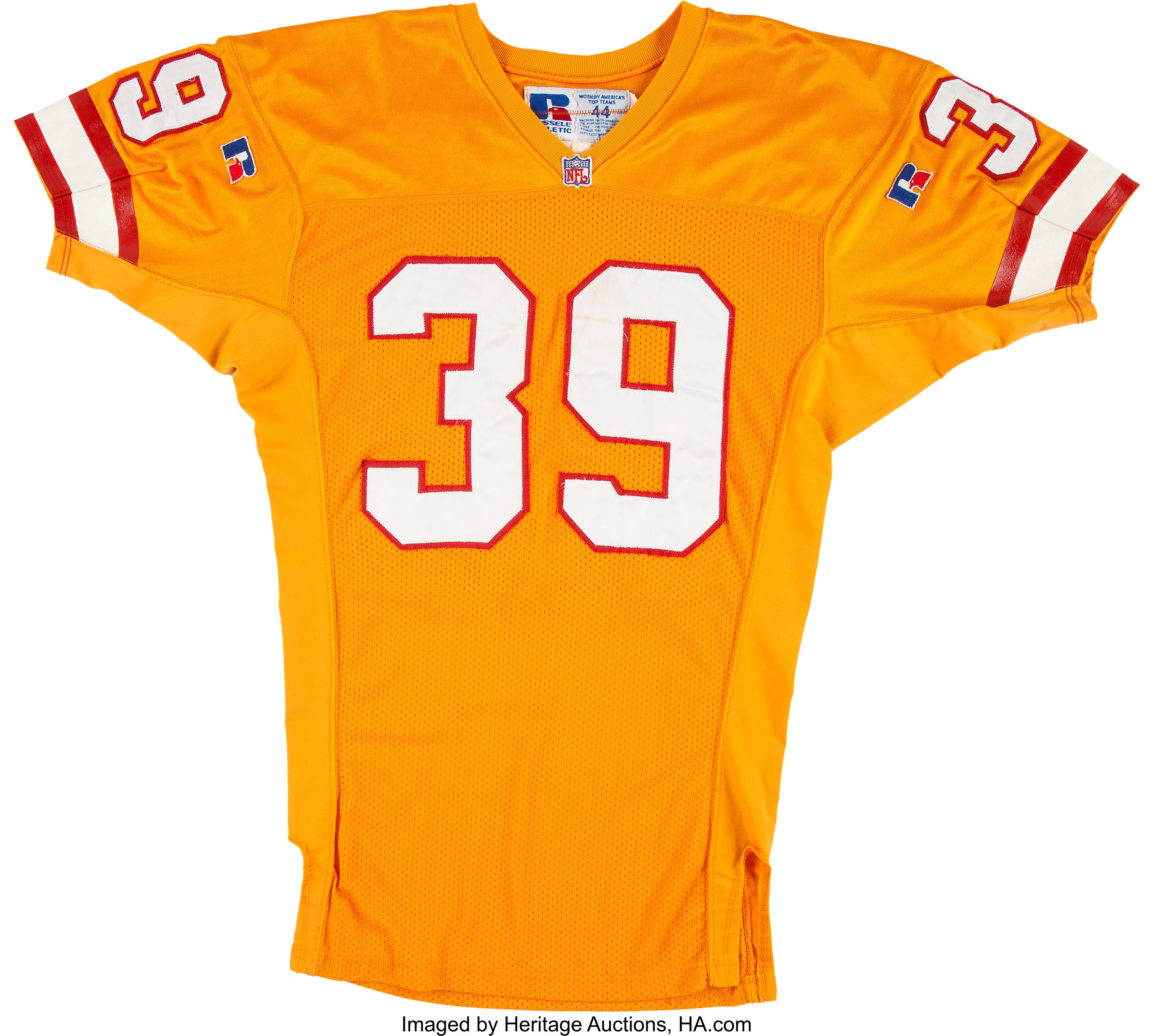 brand new c89dd 5d94a 1995 Charles Dimry Game Worn Tampa Bay Buccaneers Jersey ...