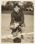 Football Collectibles:Photos, 1930's Johnny Blood McNally Signed Original Photograph....