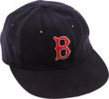 Baseball Collectibles:Hats, 1940-53 Dom DiMaggio Game Worn Boston Red Sox Cap....