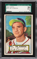 Baseball Cards:Singles (1950-1959), 1952 Topps Sid Gordon #267 SGC 96 Mint 9 - Pop One, Finest SGCExample! ...