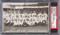 Baseball Cards:Singles (Pre-1930), 1909 Dietsche Detroit Tigers Team Postcard PSA 40 VG 3 - Only TwoGraded by PSA. ...