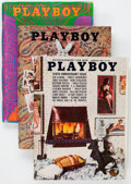 Magazines:Miscellaneous, Playboy Group (HMH, 1960-71). Condition: Average VG/FN. ... (Total:27 Items)