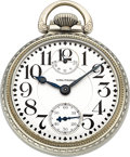 Timepieces:Pocket (post 1900), Waltham 23 Jewel Vanguard 16 Size Wind Indicator. ...