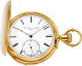 Timepieces:Pocket (pre 1900) , A. Huguenin & Sons Fine Gold Quarter Hour Repeater, circa 1880's. ...