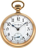 Timepieces:Pocket (post 1900), Illinois 21 Jewel Bunn Special Circa 1901. ...