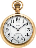 Timepieces:Pocket (post 1900), E. Howard Watch Co. 23 Jewel Series O With Box. ...