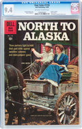 Silver Age (1956-1969):Western, Four Color #1155 North to Alaska (Dell, 1960) CGC NM 9.4 Off-whiteto white pages....