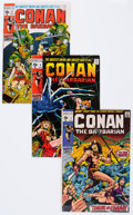 Bronze Age (1970-1979):Adventure, Conan the Barbarian Group (Marvel, 1970-72) Condition: Average VF- except as noted.... (Total: 11 Comic Books)