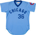 Baseball Collectibles:Uniforms, 1979 Bill Caudill Game Worn Chicago Cubs Jersey. ...