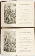 Books:Natural History Books & Prints, J.G. Wood. The Uncivilized Races, or Natural History of Man; Being a Complete Account of the Manners and Customs, and th... (Total: 2 Items)