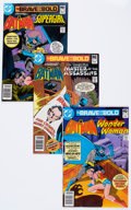 Modern Age (1980-Present):Superhero, The Brave and the Bold #158-200 Group (DC, 1980-2000) Condition:Average NM-.... (Total: 55 Comic Books)
