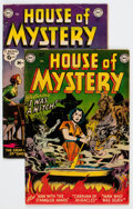 Golden Age (1938-1955):Horror, House of Mystery #5 and 11 Group (DC, 1952-53) Condition: AverageVG-.... (Total: 2 Comic Books)