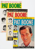 Silver Age (1956-1969):Romance, Pat Boone #1-5 Group (DC, 1959-60) Condition: Average VG/FN.... (Total: 5 Comic Books)