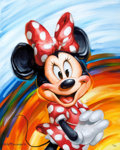 Animation Art:Poster, Rainbow Minnie Limited Edition Giclee Print #6/250 (WaltDisney Art Classics/Acme Archives, 2011).... (Total: 2 Items)