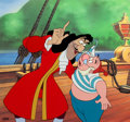 Animation Art:Limited Edition Cel, Disney Villains Volume 1 - Captain Hook and Smee LimitedEdition Cel #139/500 (Walt Disney, 1989).... (Total: 2 Items)