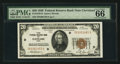 Small Size:Federal Reserve Bank Notes, Fr. 1870-D $20 1929 Federal Reserve Bank Note. PMG Gem Uncirculated 66 EPQ.. ...