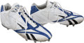Football Collectibles:Others, 2009 Tony Romo Game Worn Dallas Cowboys Cleats....