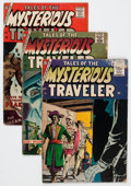 Silver Age (1956-1969):Horror, Tales of the Mysterious Traveler Group (Charlton, 1957-85)Condition: Average GD/VG.... (Total: 9 Comic Books)