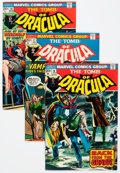 Bronze Age (1970-1979):Horror, Tomb of Dracula Group (Marvel, 1974-75) Condition: AverageVF/NM.... (Total: 25 Comic Books)