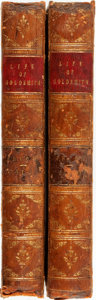 Books:Biography & Memoir, James Prior. The Life of Oliver Goldsmith, M.B. From A Varietyof Original Sources. In Two Volumes. London: John Mur...(Total: 2 Items)