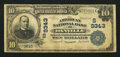 National Bank Notes:Virginia, Danville, VA - $10 1902 Date Back Fr. 618 The American NB Ch. #(S)9343. ...