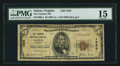 National Bank Notes:Virginia, Salem, VA - $5 1929 Ty. 1 The Farmers NB Ch. # 1824. ...