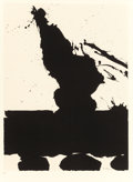 Fine Art - Work on Paper:Print, ROBERT MOTHERWELL (American, 1915-1991). Africa Suite: Africa2, 1970. Silkscreen in colors on wove paper . 31-1/4 x 23-...