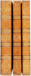 Books:Literature Pre-1900, [Featured Lot]. [Lord Byron]. Don Juan, Cantos I-XIV.London: Thomas Davison/John Hunt, 1819-1823. First octavo ...(Total: 3 Items)