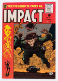 Golden Age (1938-1955):Horror, Impact #4 (EC, 1955) Condition: VF....
