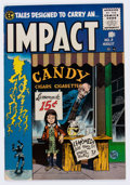 Golden Age (1938-1955):Horror, Impact #3 (EC, 1955) Condition: VF....