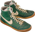 Basketball Collectibles:Others, 1982 Gerald Henderson Game Worn Boston Celtics Shoes....