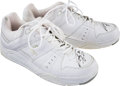 Basketball Collectibles:Others, 2010-11 Shaquille O'Neal Game Worn Shoes. ...