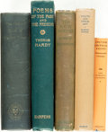 Books:Literature Pre-1900, [Poets/Poetry]. Group of Five Books. Various publishers and dates.... (Total: 5 Items)