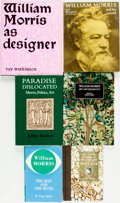 Books:Biography & Memoir, [William Morris]. Group of Six Books on William Morris. Various publisher's and dates. ... (Total: 6 Items)