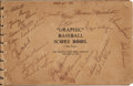 Baseball Collectibles:Others, 1947 New York Yankees Team Signed Puerto Rican Tour Scorebook....
