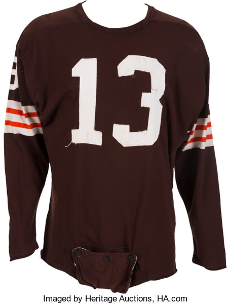 promo code 67071 61c62 1962-63 Frank Ryan Game Worn Cleveland Browns Jersey ...