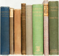Books:Literature Pre-1900, [Poetry]. Group of Eight Books. Various publishers and dates. ...(Total: 8 Items)