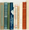 Books:Reference & Bibliography, [Literary Scholarship and Criticism]. Group of Ten Books. Variouspublishers and dates. ... (Total: 10 Items)