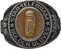 Boxing Collectibles:Memorabilia, 2001 Texas Golden Gloves Boxing Championship Ring. ...