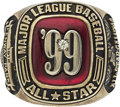 Baseball Collectibles:Others, 1999 Major League All-Star Game Ring....