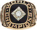 Baseball Collectibles:Others, 1967 St. Louis Cardinals World Series Championship Ring. ...
