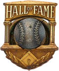 Baseball Collectibles:Pins, 1970 Earle Combs Hall of Fame 14K Gold Induction Pin....