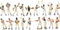 Baseball Collectibles:Others, 1958-62 Hartland Baseball Statues Complete Set of 18....
