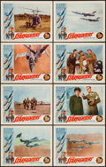 "Movie Posters:War, The Starfighters (Parade Releasing, 1964). Lobby Card Set of 8 (11""X 14""). War.. ... (Total: 8 Items)"