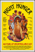 """Movie Posters:Adult, Night Hunger & Other Lot (P.R.P. Inc., 1983). One Sheets (76) (27"""" X 41""""). Adult.. ... (Total: 76 Items)"""