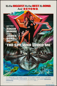 "The Spy Who Loved Me (United Artists, 1977). One Sheet (27"" X 41""). James Bond"